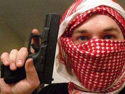 אריק הרון לוחם בסוריה