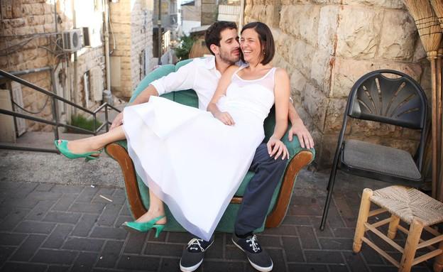 החתונה של מאיה ונתן (צילום: טלי ודבורה)