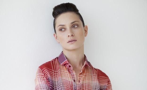 """אנה ארונוב לבלמונד (צילום: דודי חסון למגזין """"Bellemode"""" ,mako)"""