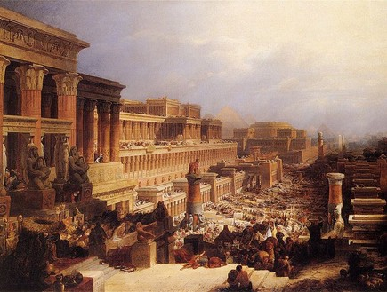 יציאת מצרים - ציור מ-1829