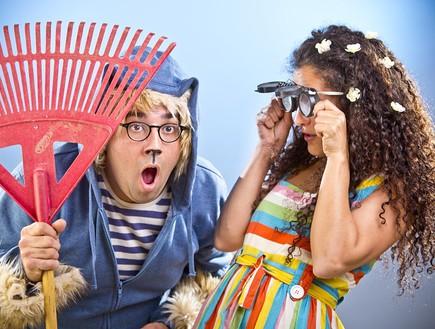 נונה קוראת מחשבות - פסטיבל חיפה להצגות ילדים צילום