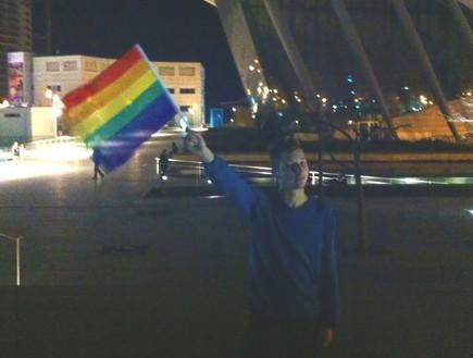 יעקב גיליוב מצעד הגאווה באשדוד