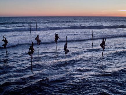 דייגים בסרי לנקה, תמונות מהעולם