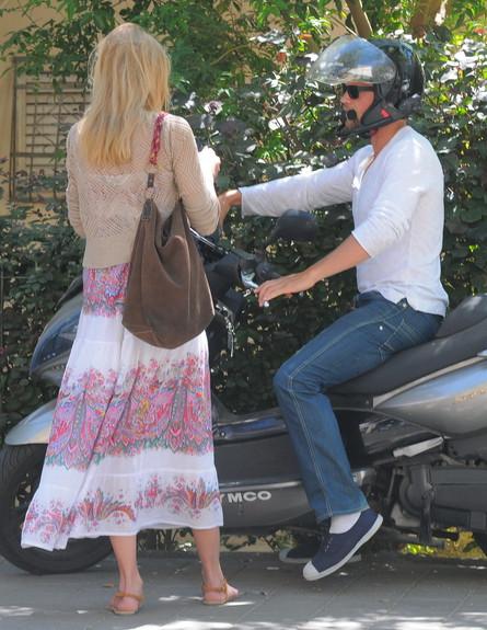 גיא גיאור ודפנה דה גרוט ביחד, מרץ 2013