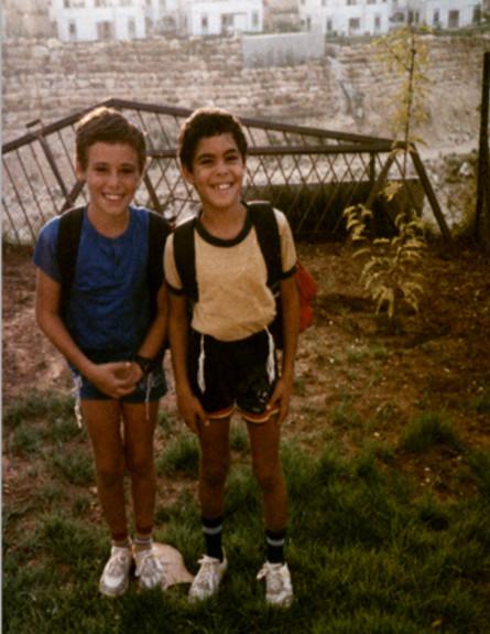אלירז ואוריאל בבית הספר היסודי