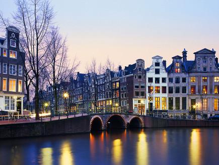 אמסטרדם, ערי תעלות