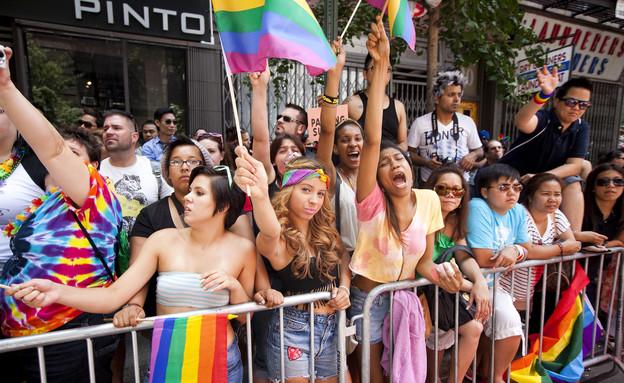 מצעד הגאווה בניו יורק (צילום: אימג'בנק / Gettyimages)