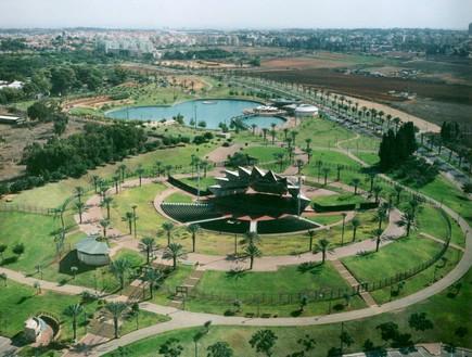 פארק רעננה ממעוף הציפור - אגף הנדסה