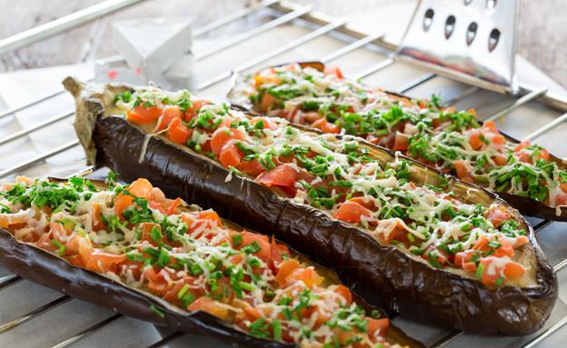 חצילים מוקרמים (צילום: בני גם זו לטובה ,אוכל טוב)