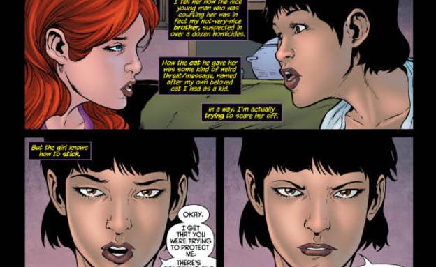 הדמות הטרנסג'נדרית הראשונה בקומיקס (צילום: יחסי ציבור)