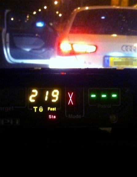 הנהג נעצר בשל מסוכנות לציבור (צילום: דוברות אגף התנועה)