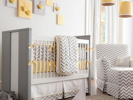 קירות פסים, מיטת תינוק