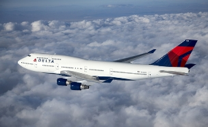מטוס דלתא איירליינס בקו תל אביב ניו-יורק (יח``צ: יחסי ציבור ,יחסי ציבור)