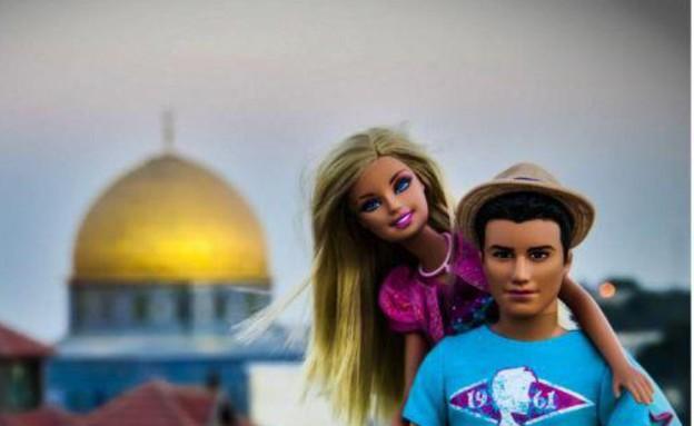 בירשולים, קן וברבי בישראל (צילום: מתוך העמוד www.facebook.com/BarbieLovesIsrael ,החברה להגנת הטבע)