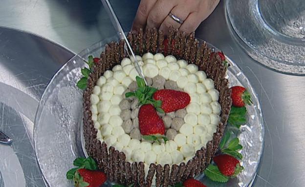 עוגת גבינה של אביבה(mako)