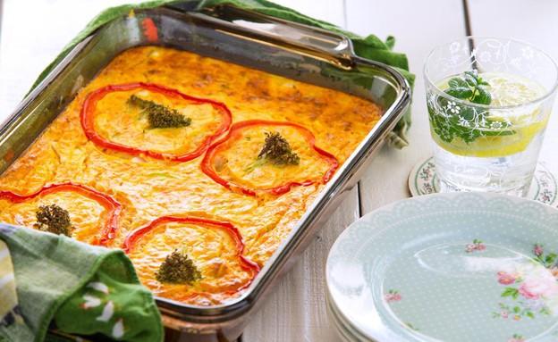 פשטידת ירקות דיאטטית (צילום: בני גם זו לטובה ,אוכל טוב)