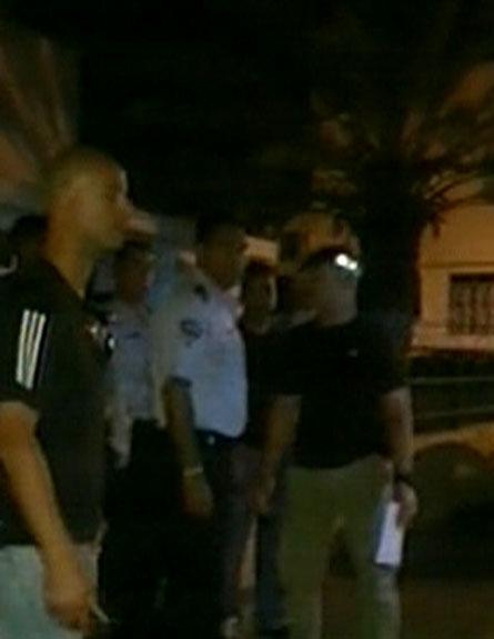זירת הדקירה, הערב באשקלון (צילום: חדשות 2)