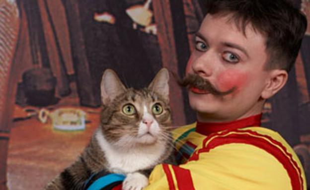 חתול קרקס (צילום: צילום מסך)