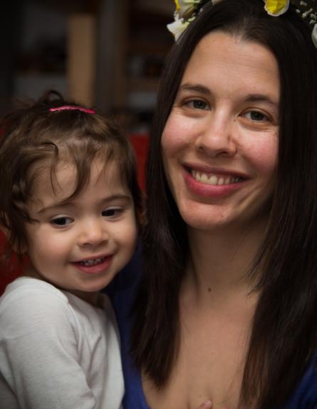 מיכל יושאי חוגגת יום הולדת עם בתה