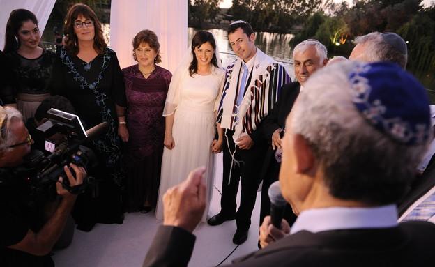 חתונה ציפי חוטובלי (צילום: מיכאל שבדרון  ,mako)