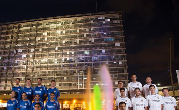 ריינבול גאווה כיכר רבין (צילום: גיא יחיאלי)
