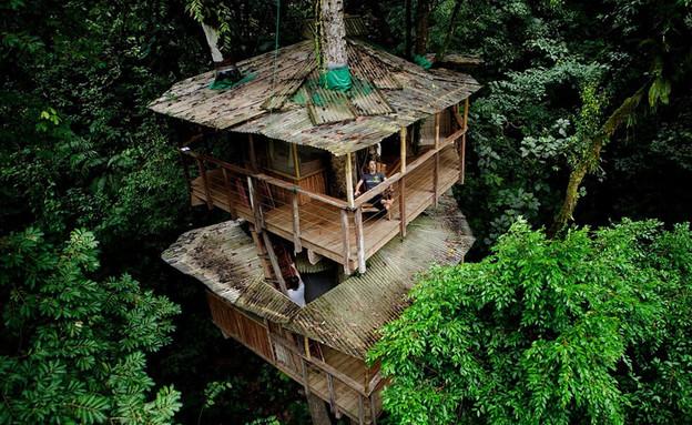 בית העץ, מבט מלמעלה (צילום: fincabellavista.com)