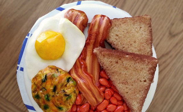 עוגת ארוחת בוקר (צילום: מתוך dailymail.co.uk)
