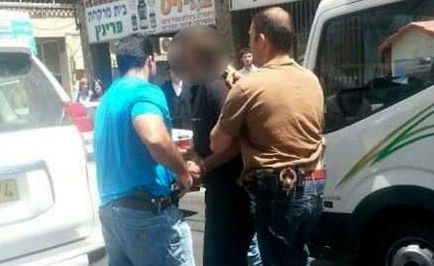 מעצר החשודים בפרשה, ארכיון (צילום: שוקי לרר)