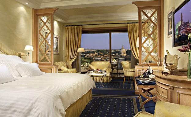 רומא קוואליר אסטוריה, נוף ממלונות (צילום: kiwicollection.com)