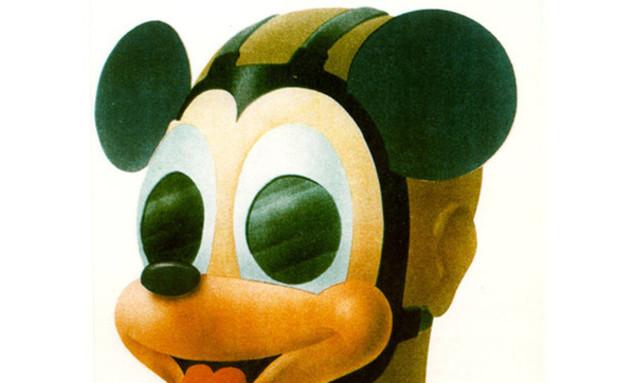 מסכת האבכ לילדים של מיקי מאוס (צילום: atlasobscura.com)