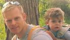 שניר בנדק עם ילדיו (צילום: צילום ביתי)
