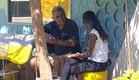 טהוניה ואבי מדברים (תמונת AVI: mako)