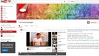 יוטיוב חודש הגאווה (צילום: צילום מסך מתוך youtube)