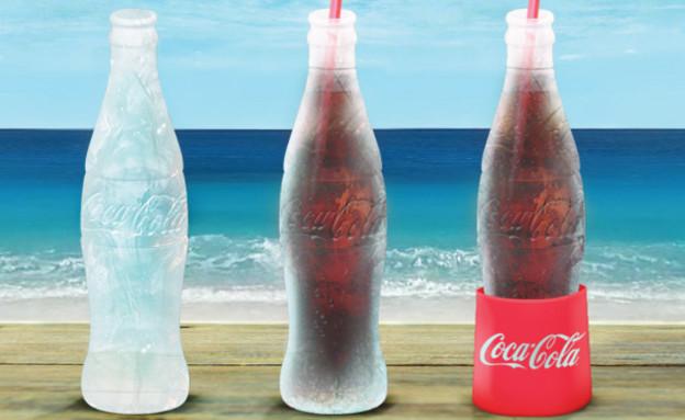 בקבוק הקרח של קוקה קולה (צילום: coca-colacompany.com)