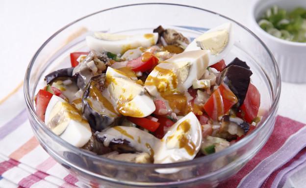 סלט סביח (צילום: אפיק גבאי ,אוכל טוב)