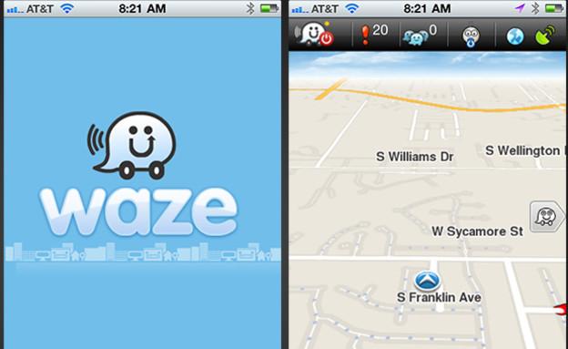 WAZE (צילום: אתר רשמי)