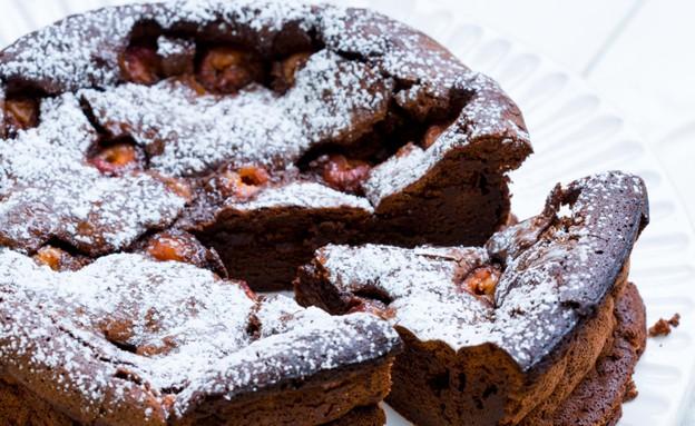 עוגת שוקולד פאדג' (צילום: בני גם זו לטובה ,אוכל טוב)