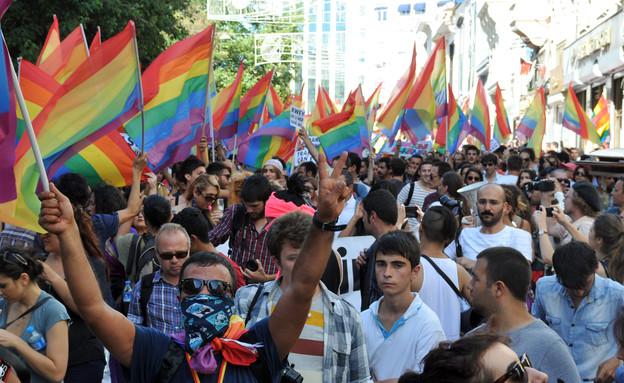 מצעד הגאווה בטורקיה (צילום: אימג'בנק / Gettyimages)