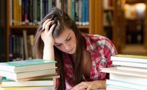 לימודים בספרייה (צילום: ThinkStock ,Thinkstock)
