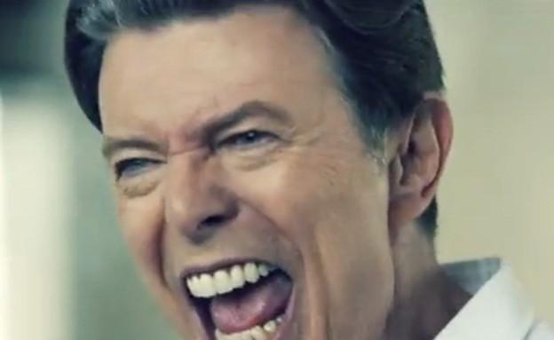 דיוויד בואי בקליפ ולנטיינז דיי (צילום: צילום מסך מתוך youtube)