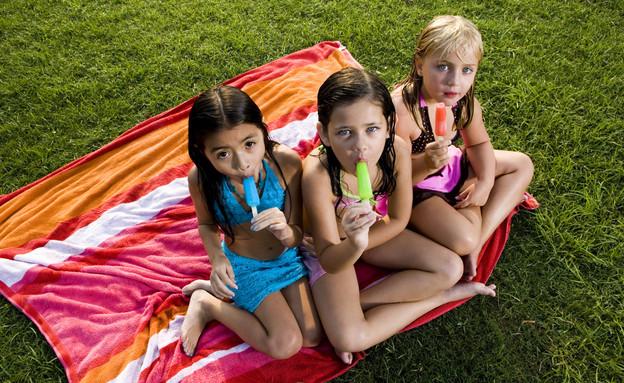 קיץ, ילדים, קרטיב, ארטיק, החופש הגדול (צילום: אימג'בנק / Gettyimages ,אוכל טוב)