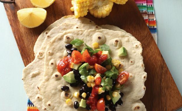 טעים ללא גלוטן - טורטיות (צילום: חוה רחל ,טעים ללא גלוטן, הוצאת ב.דיזיין )