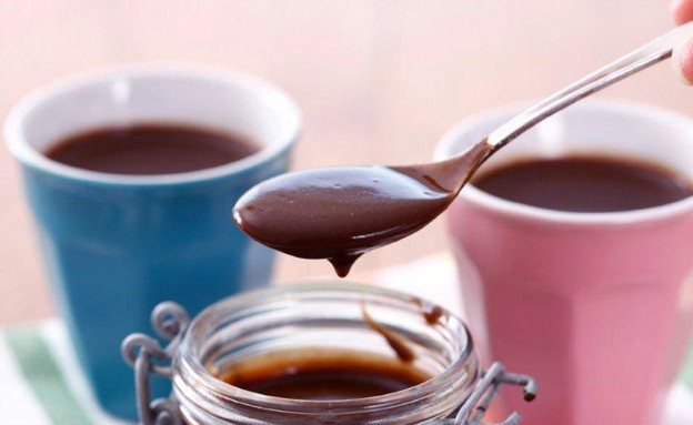 מעדן שוקולד טבעוני (צילום: אפיק גבאי ,אוכל טוב)