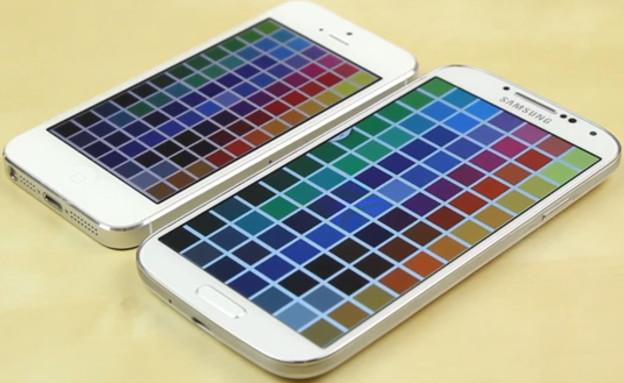 גלקסי S4, אייפון 5
