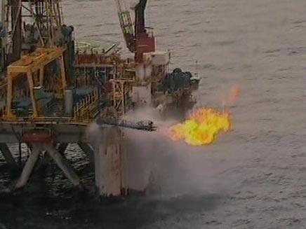 הממשלה החליטה לייצא 40% מהגז (צילום: חדשות 2)