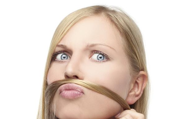 שיער פנים (צילום: Thinkstock ,getty images)