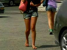 תופעה: בנות 16 ומטה מוכרות את גופן (צילום: חדשות 2)