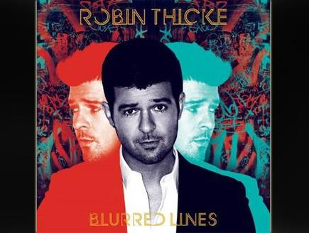 רובין ת'יק, Blurred lines, עטיפת אלבום (צילום: יחסי ציבור)