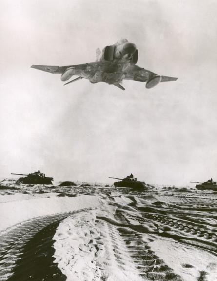 מטוס פנטום במלחמת יום כיפור