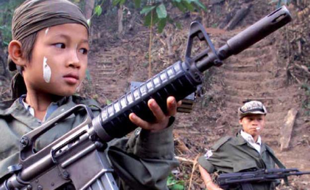 ילד לוחם